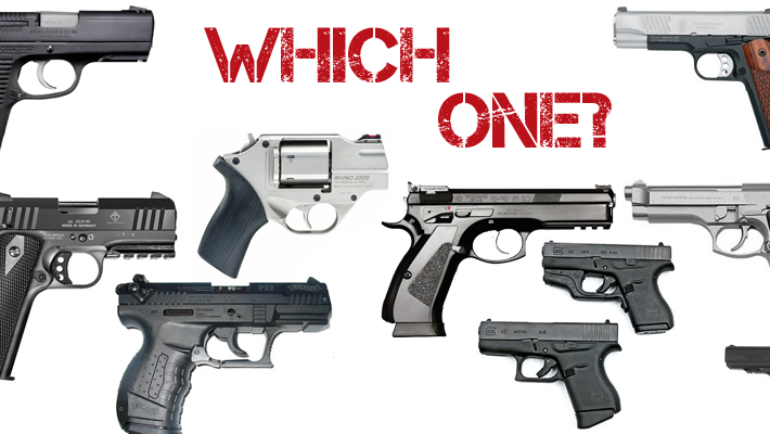HOW TO DECIDE ON A HANDGUN